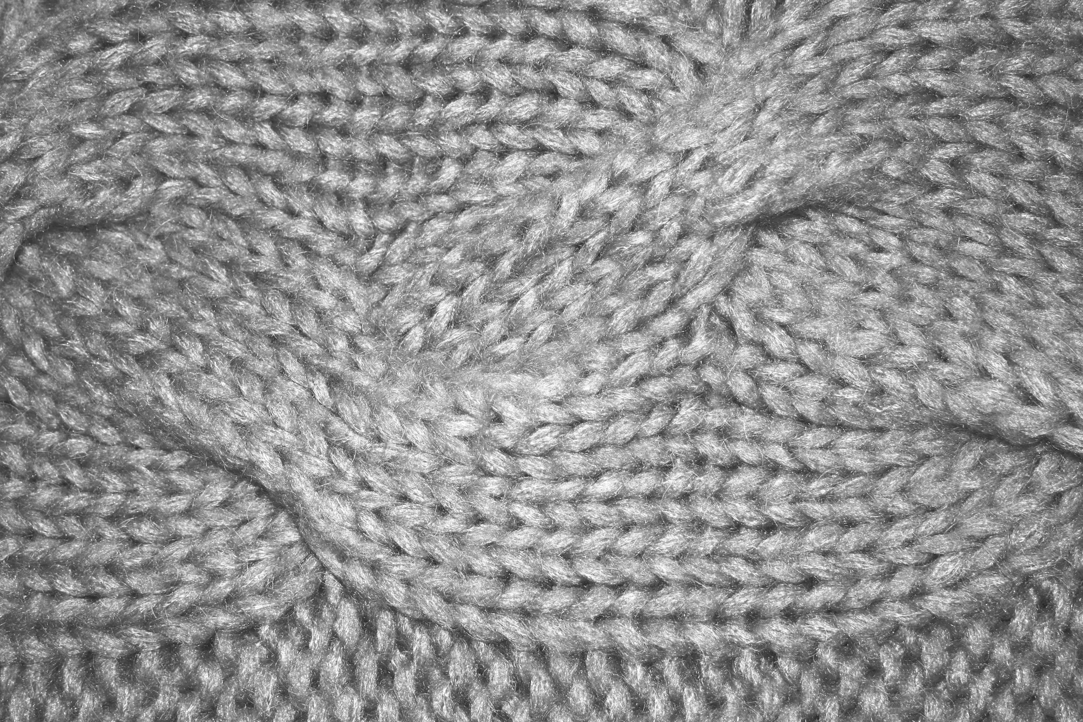 Free Picture Gray Knit Pattern Texture