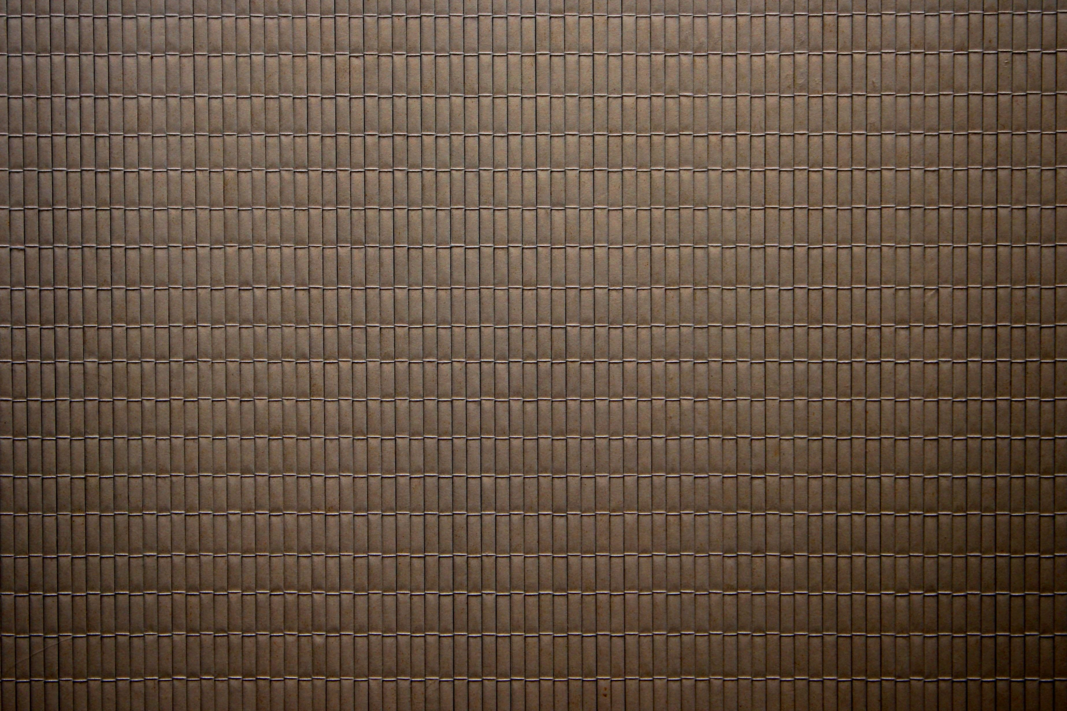 Free picture coffee color brown bamboo mat texture