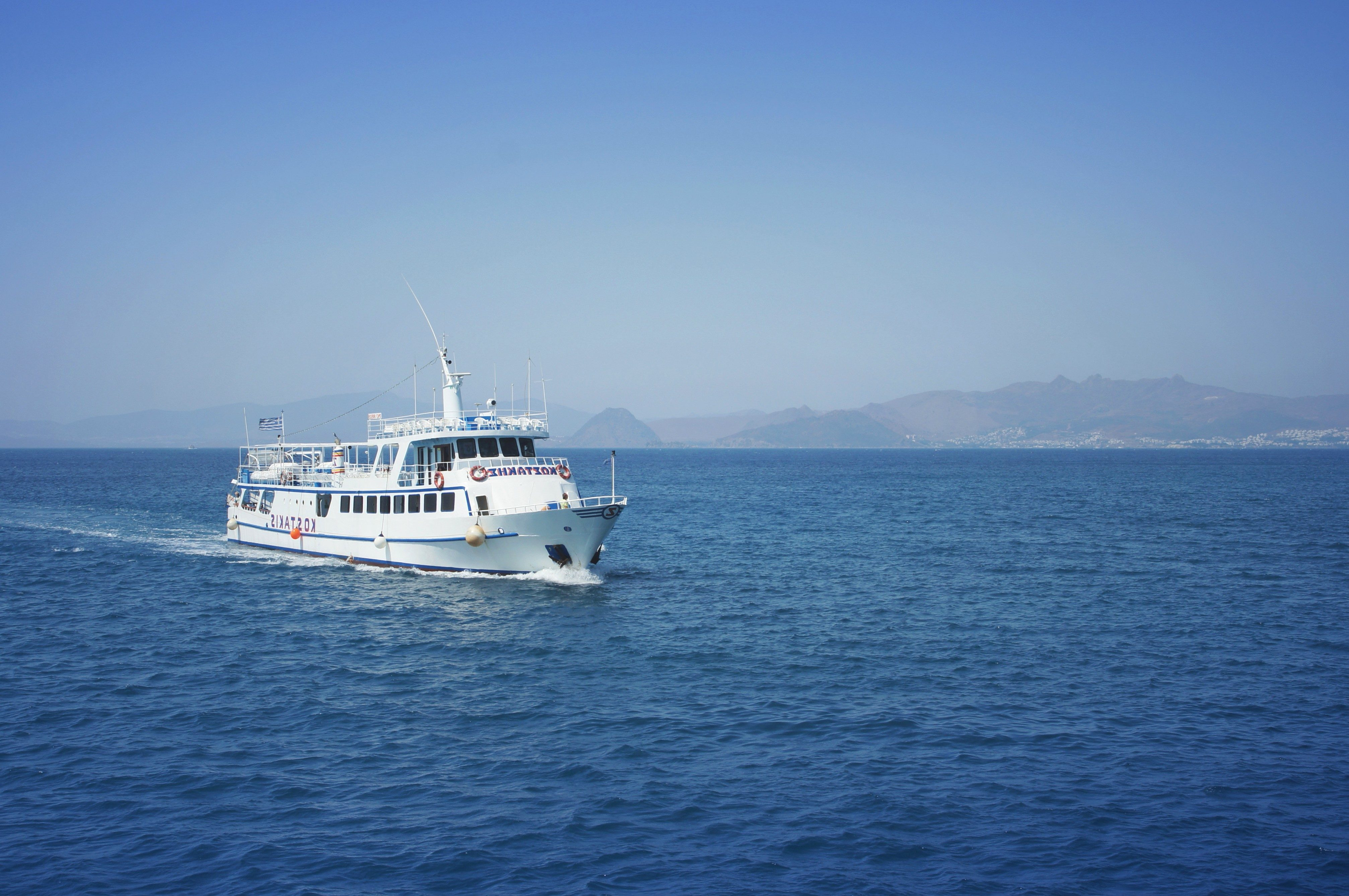 Free Picture Greece Ship Passenger Boat Ferry Boat