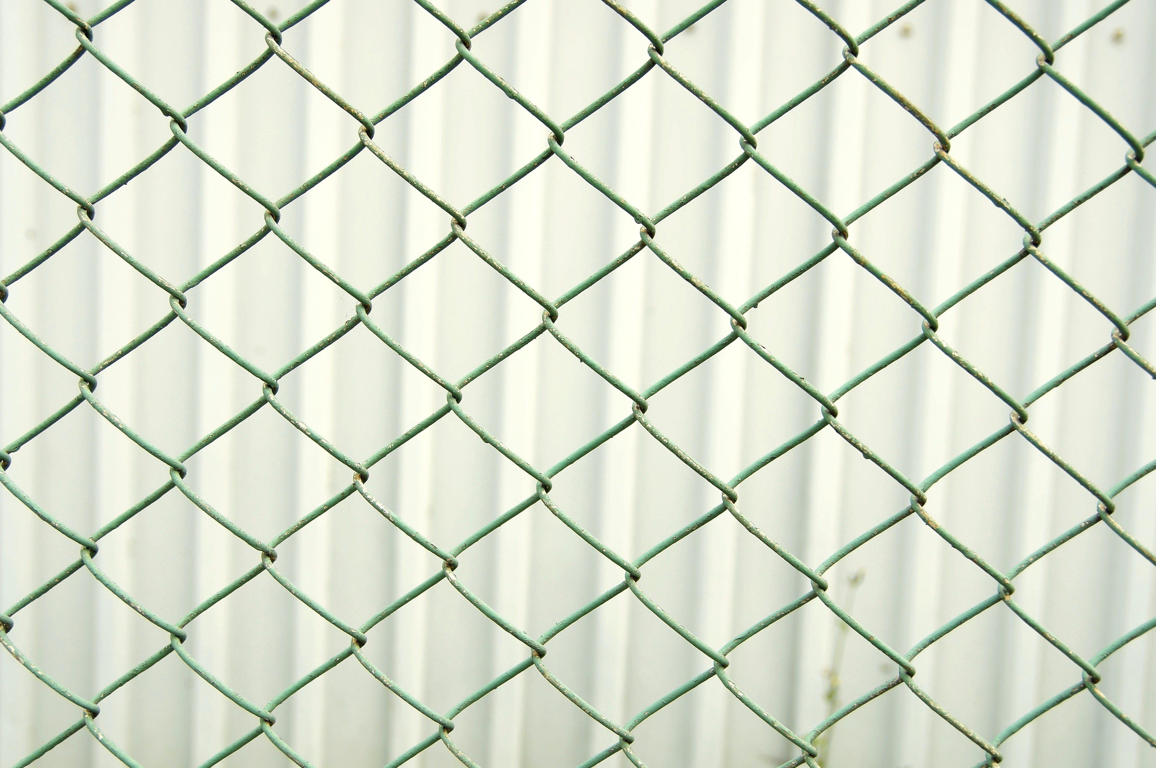 Imagen gratis valla de metal alambres acero textura