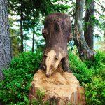 Kostenlose Bild Skulptur Tier Holz Geschnitzt Baumstamm