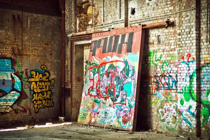 Old Car Wallpaper Free Download Free Picture Street Graffiti Art Concrete Block Walls