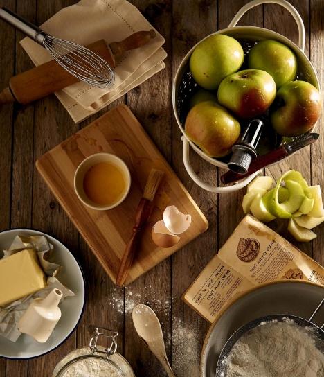 Foto gratis cibo recept dieta frutta noci cucina mele farina