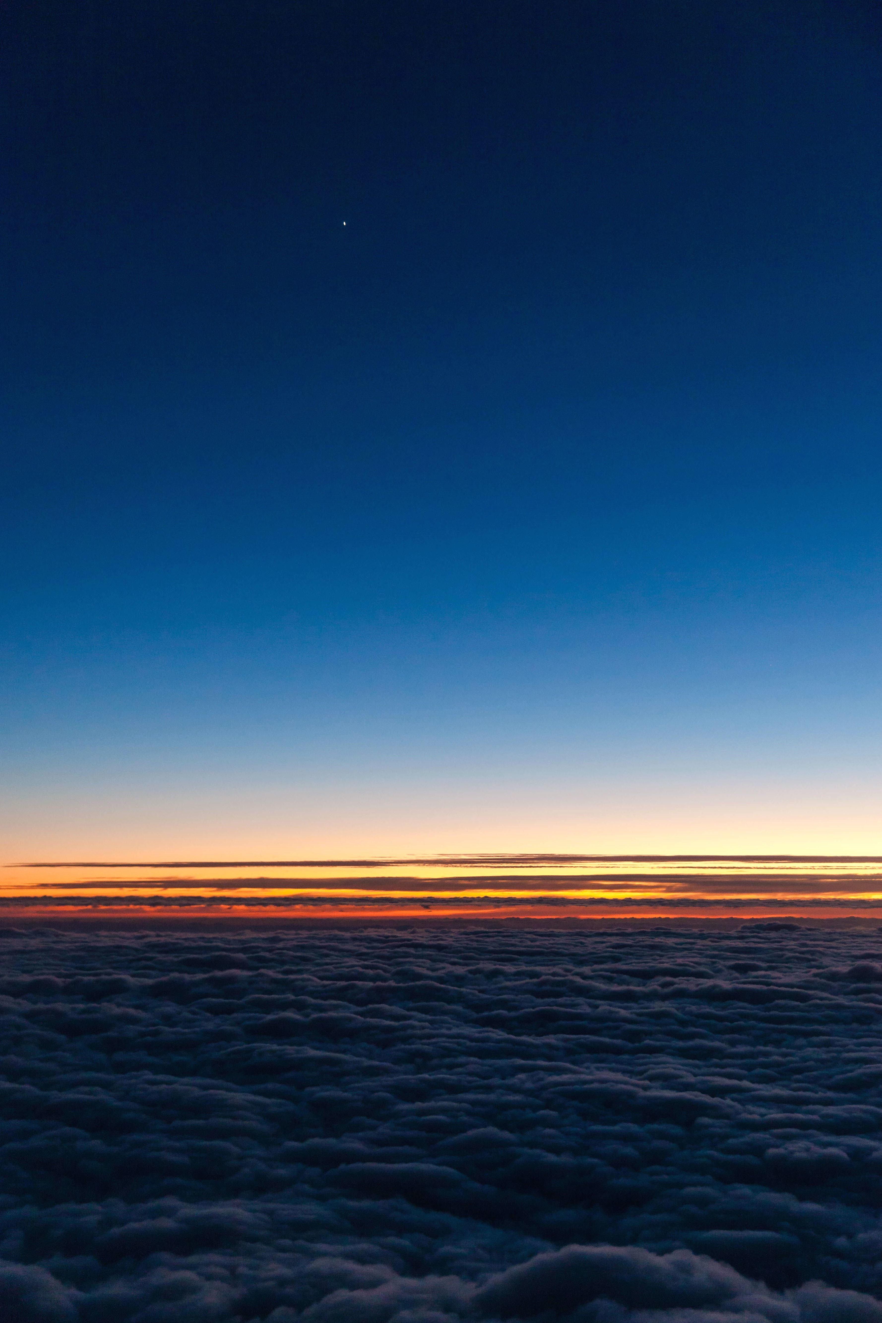 Imagen gratis cielo amanecer atardecer nubes horizonte