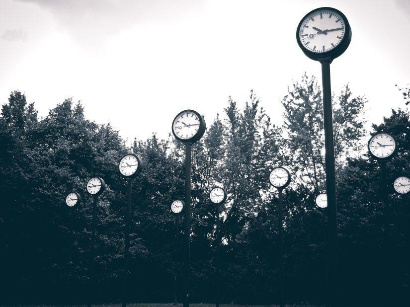 Foto gratis: tempo, strada, orologi, arte, parco