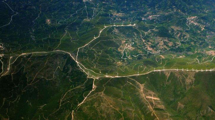 Foto gratis terra paesaggio natura verde mappa