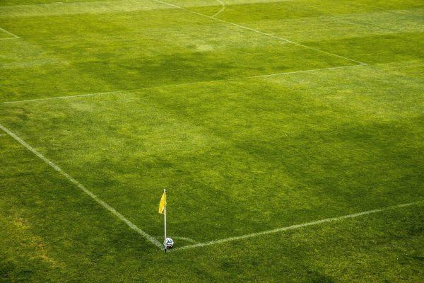 Libre Football Herbe Verte Drapeau
