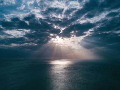 Free picture: sun, water, beach, clouds, sea, nature