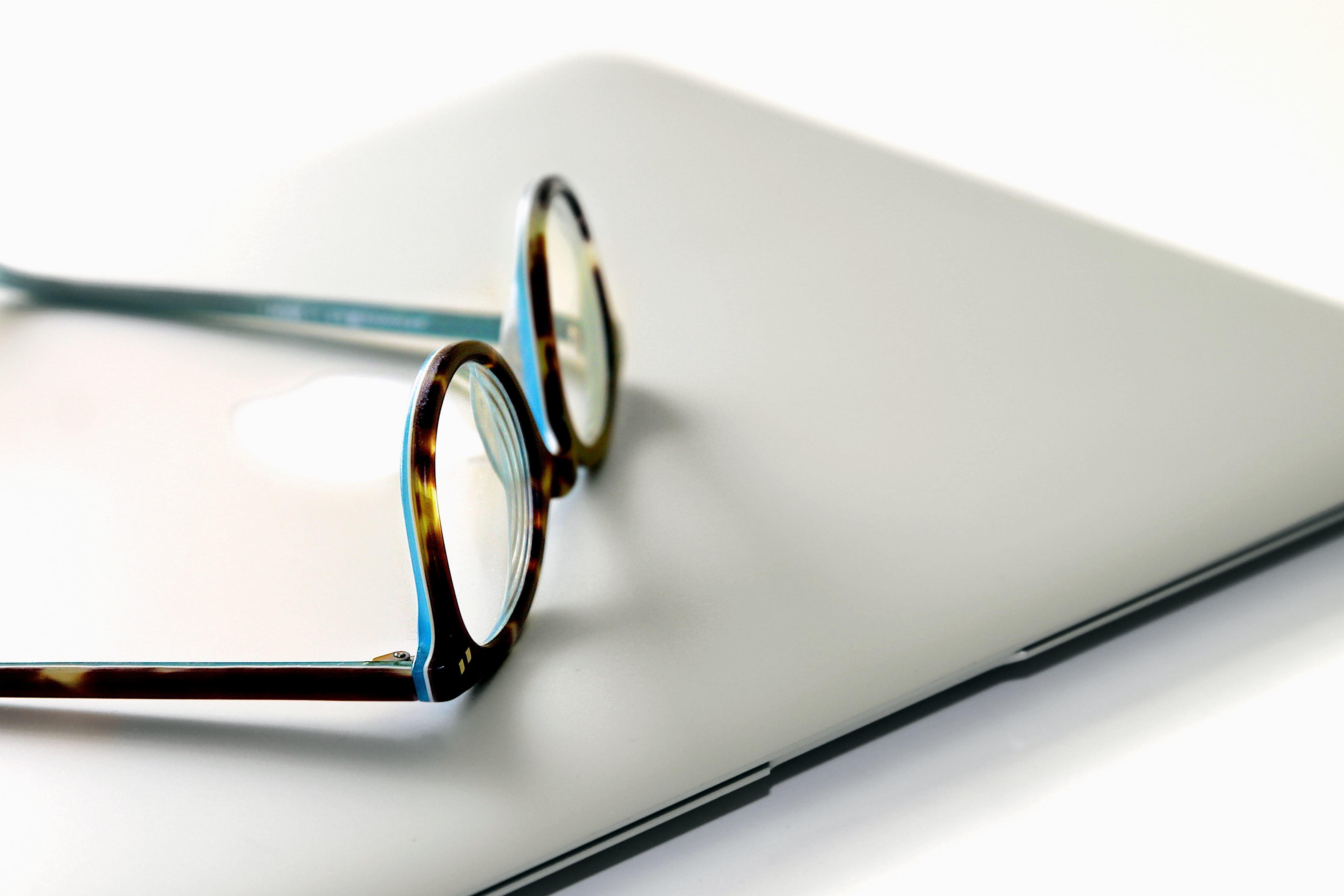 Imagen gratis Ordenador porttil gafas cuaderno