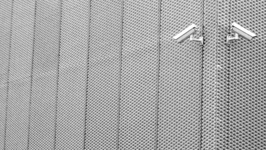 Free picture: aluminum, architecture, security camera, steel