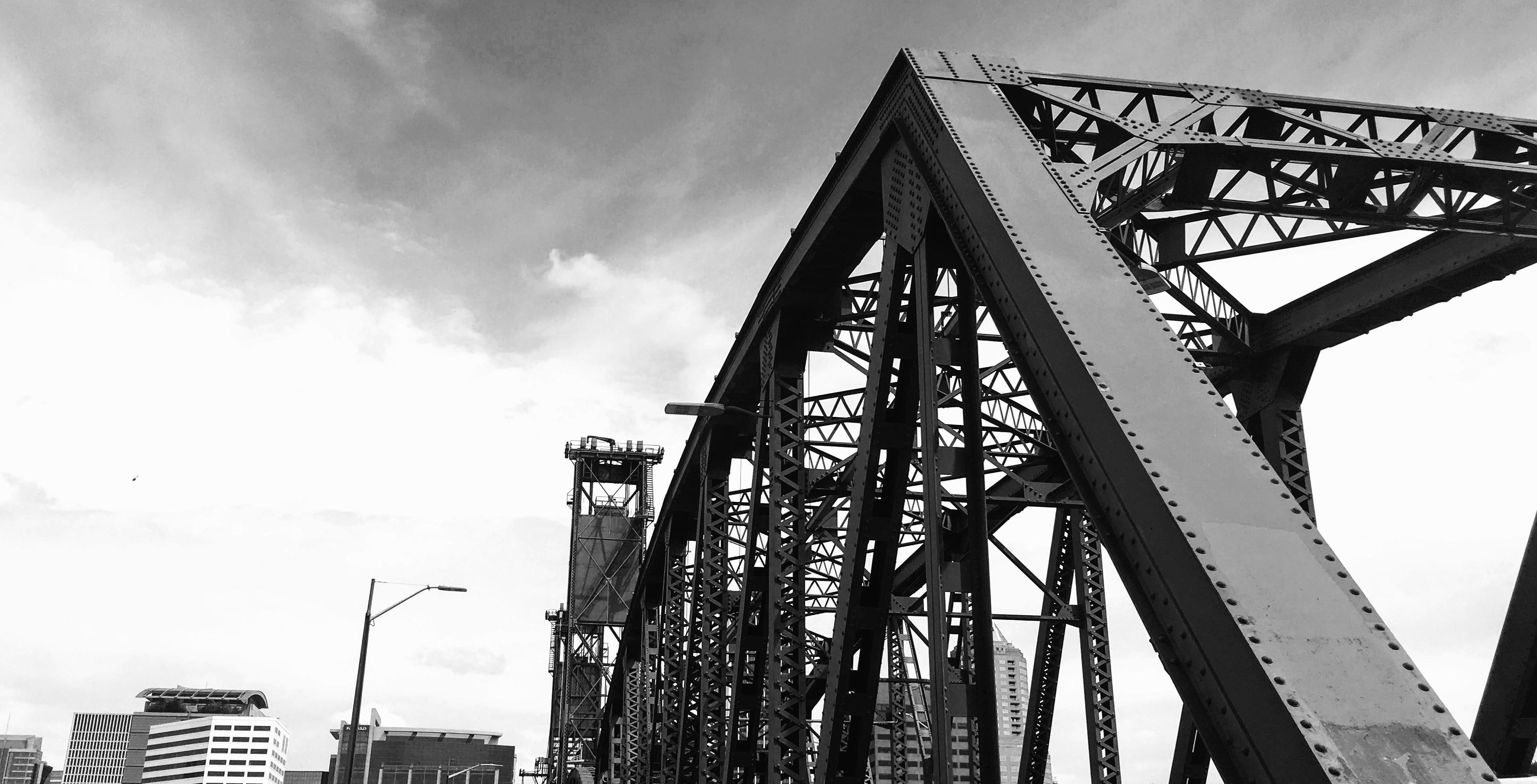 Free picture sky steel architecture bridge building