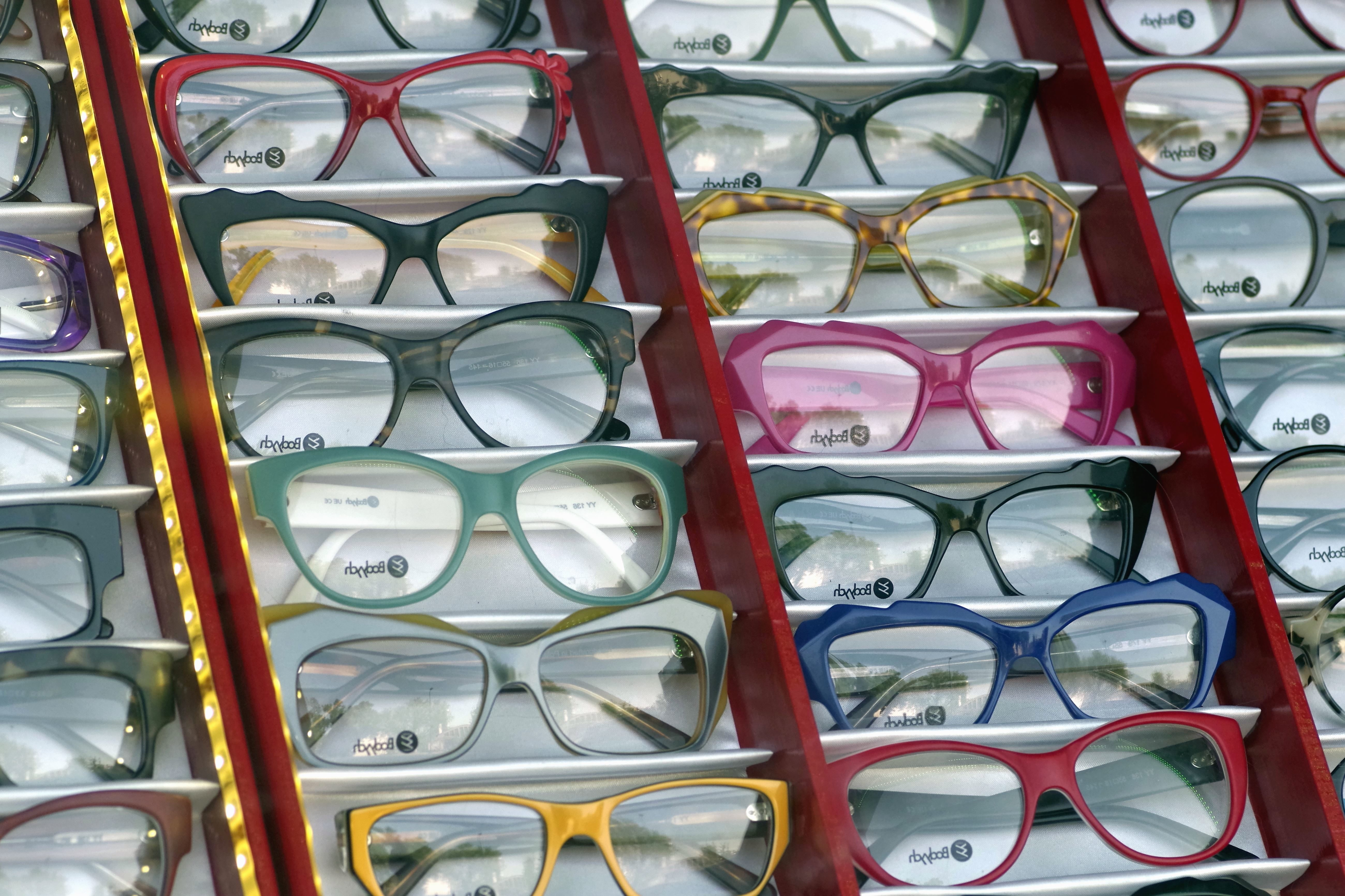 Free picture eyeglasses lens shop glasses exhibition