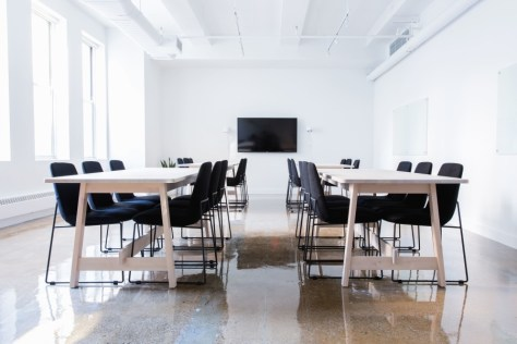 オフィス、机、椅子、会議室、インテリア、ディスプレイ、会議