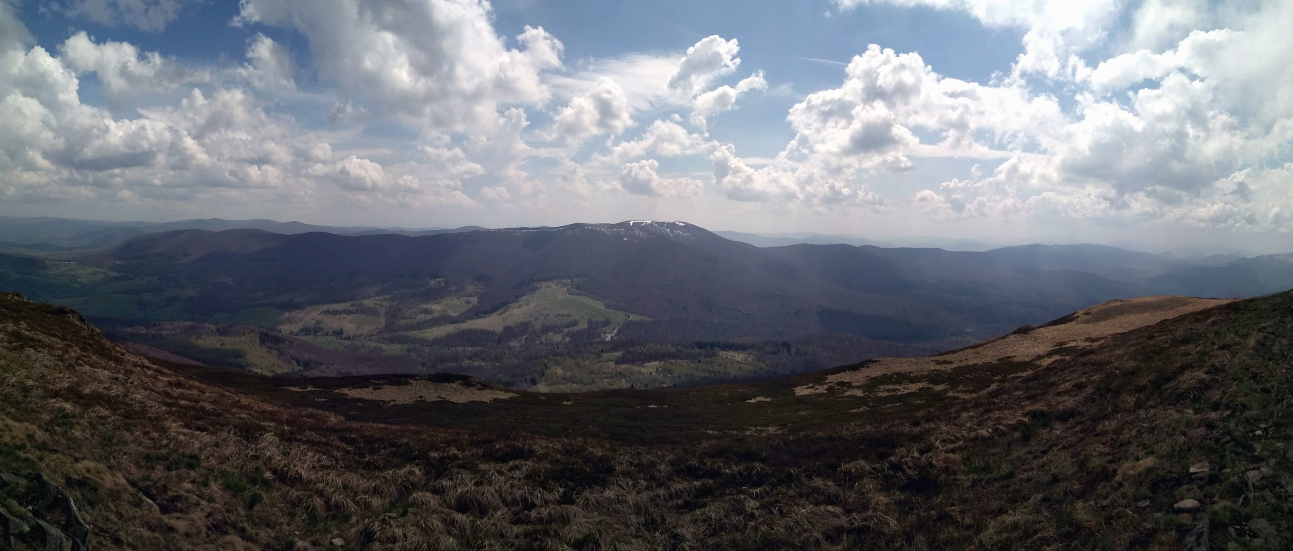 Imagen gratis Montaas cielo nubes valle naturaleza