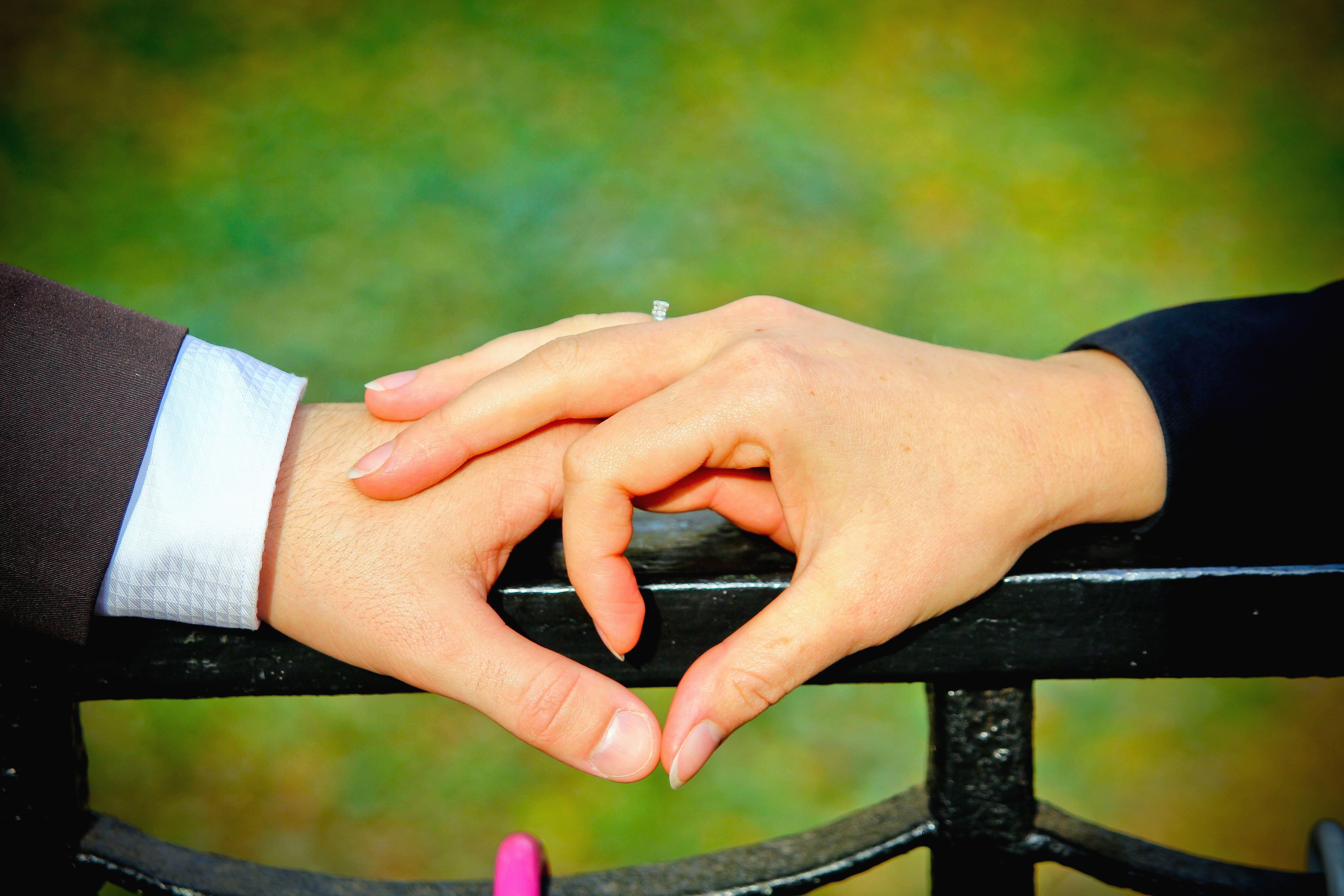 Kostenlose Bild Mann Frau Hand Finger Ring Hochzeit