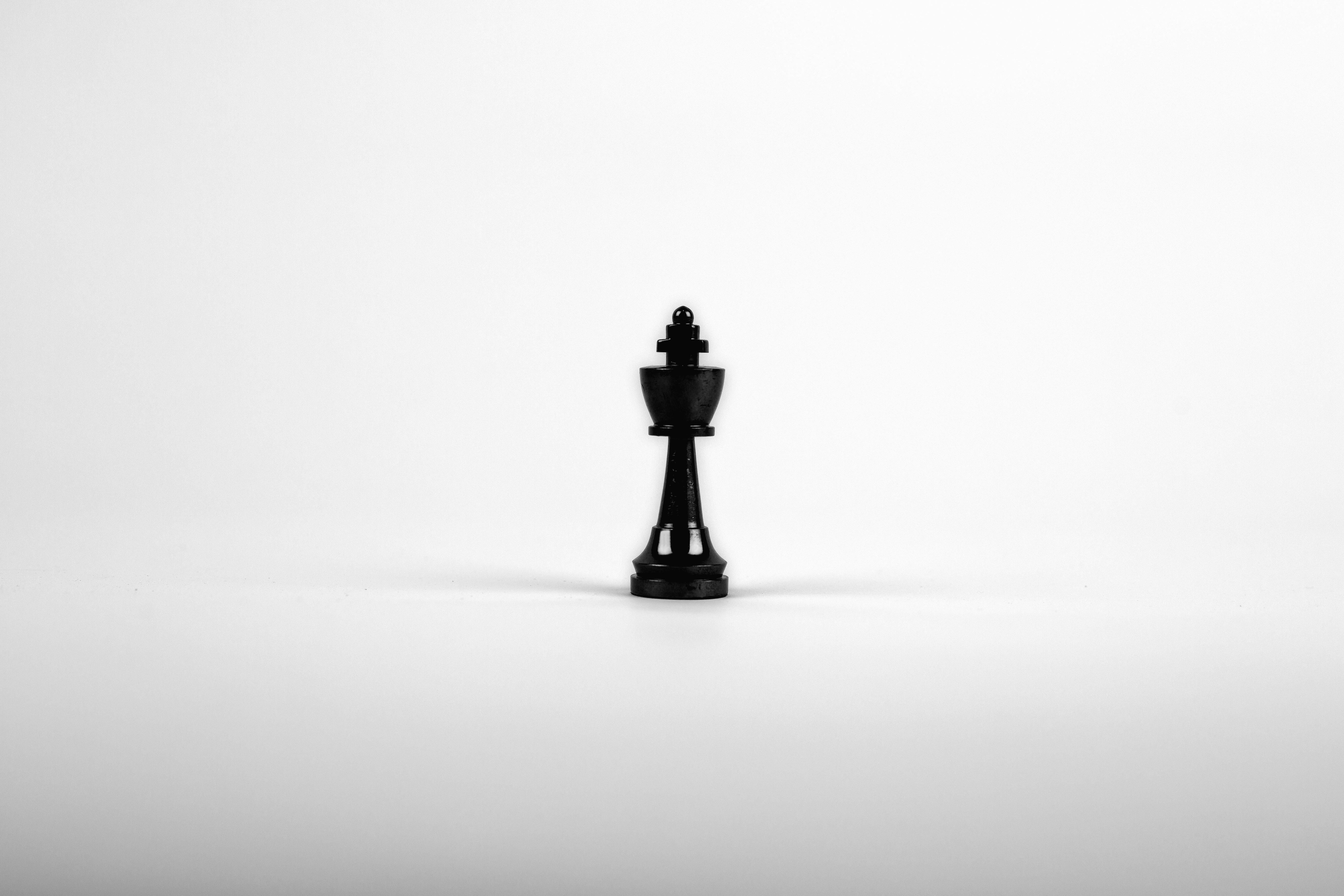 Foto gratis Re scacchi gioco scacchiera strategia