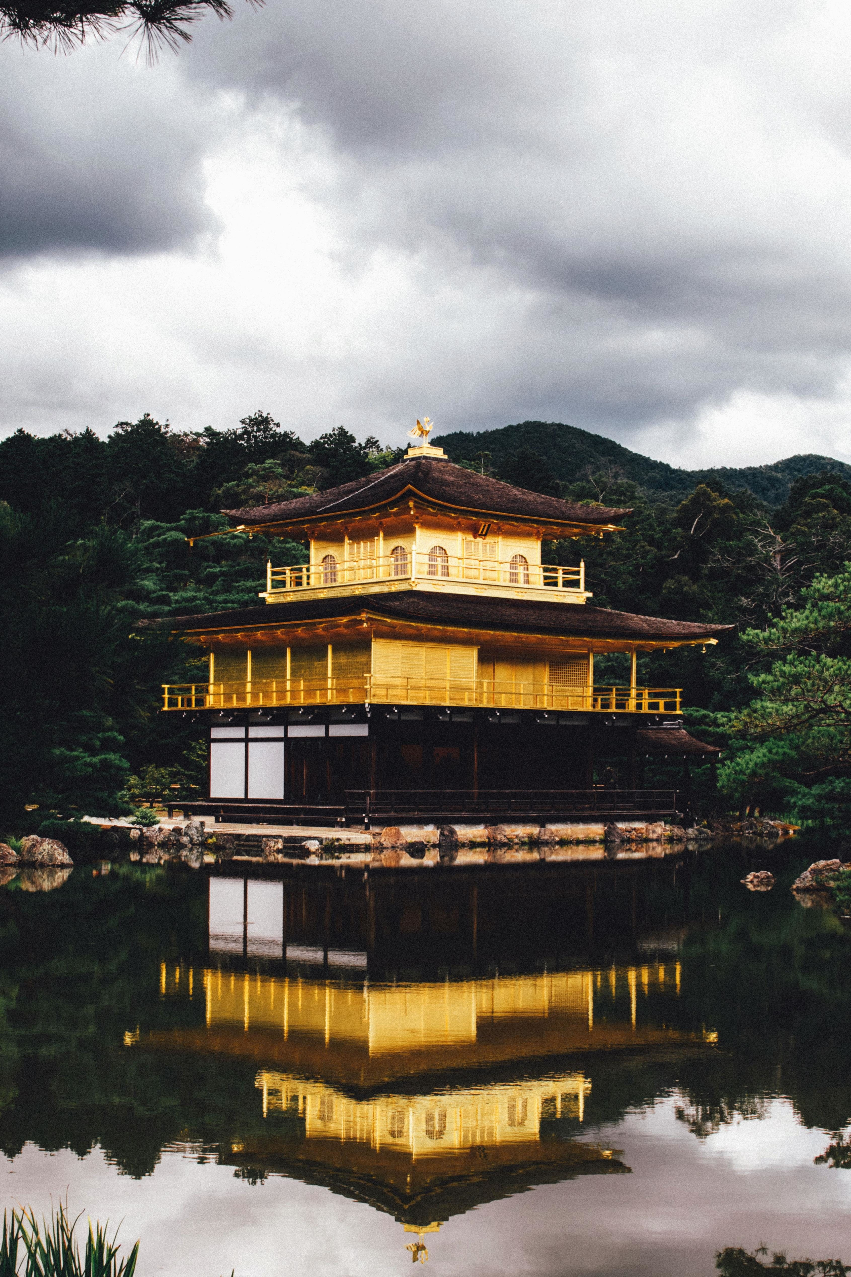 Free picture asia reflection water lake house