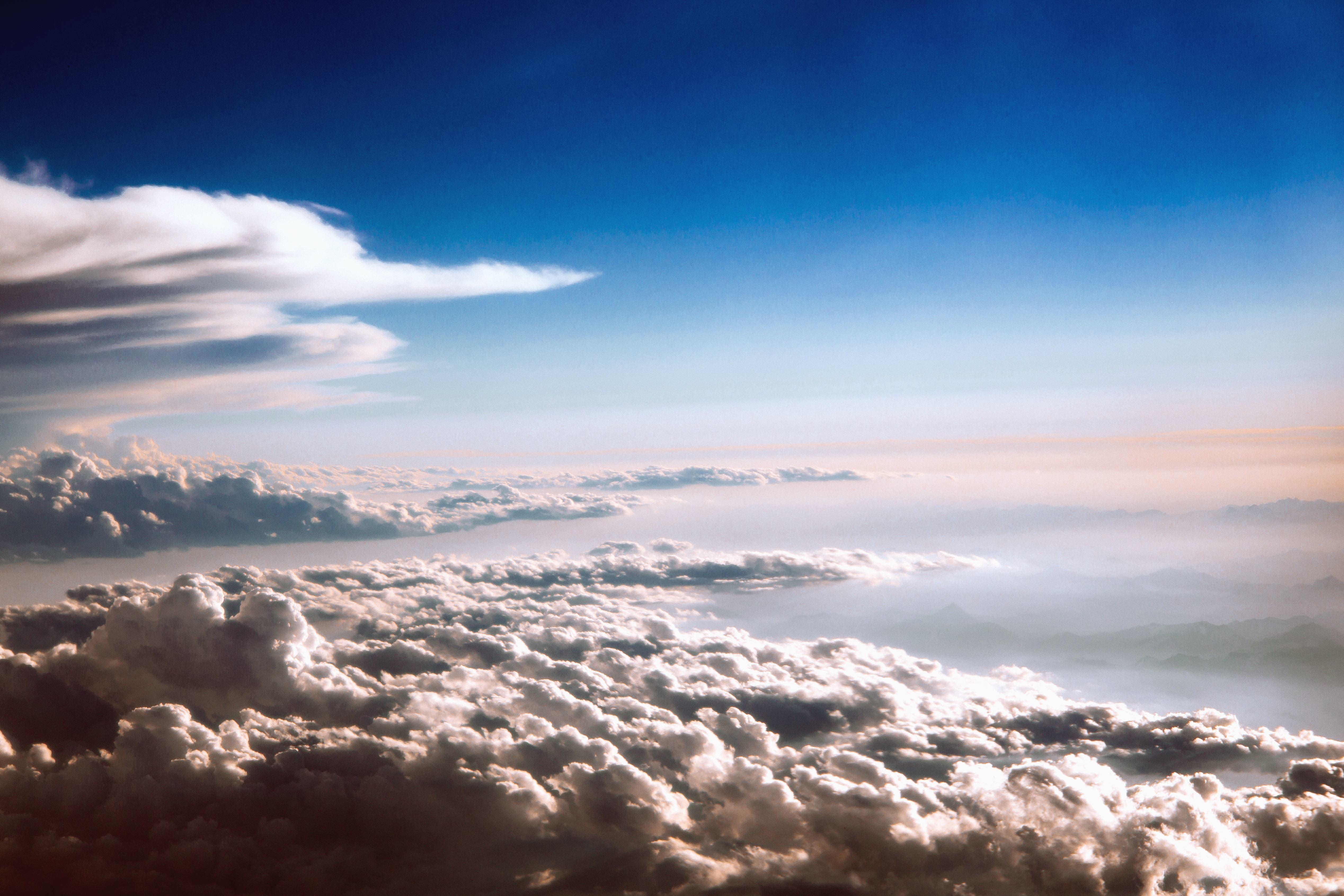 Imagen gratis Cielo nube sol paisaje tiempo luz del sol