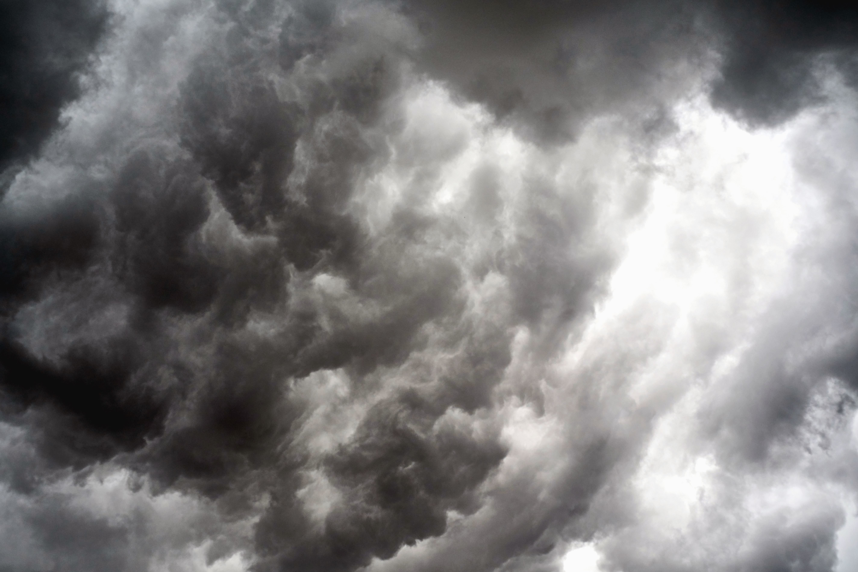Foto gratis Cielo nuvola luce sole bianco e nero