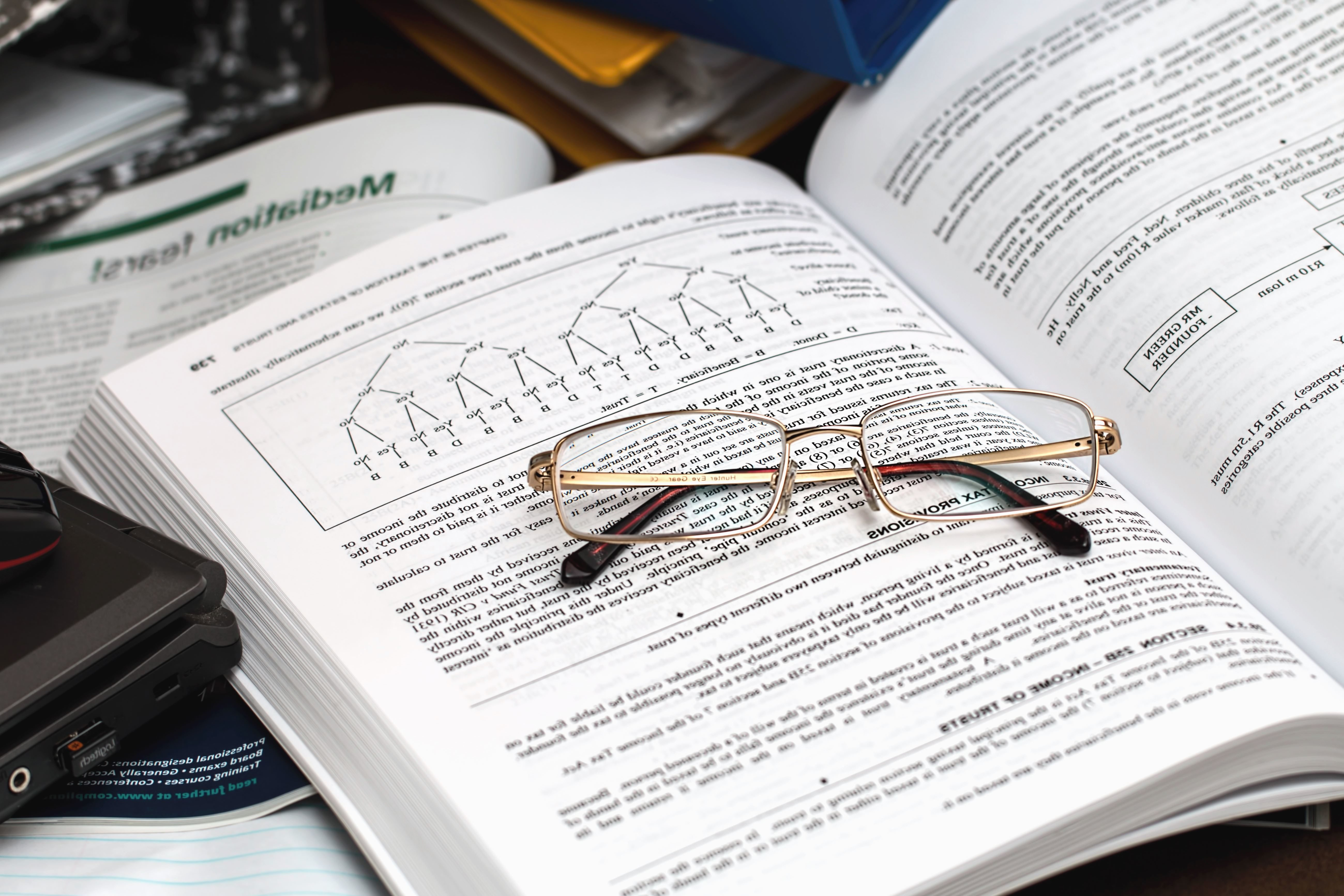 Free picture eyeglasses book science study paper reading