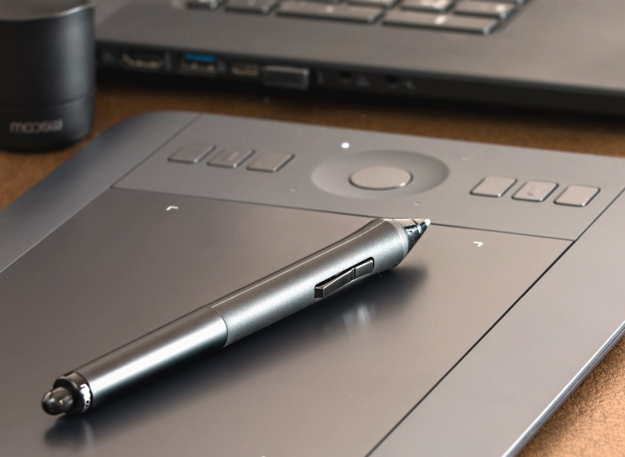 Free picture pencil laptop computer technology