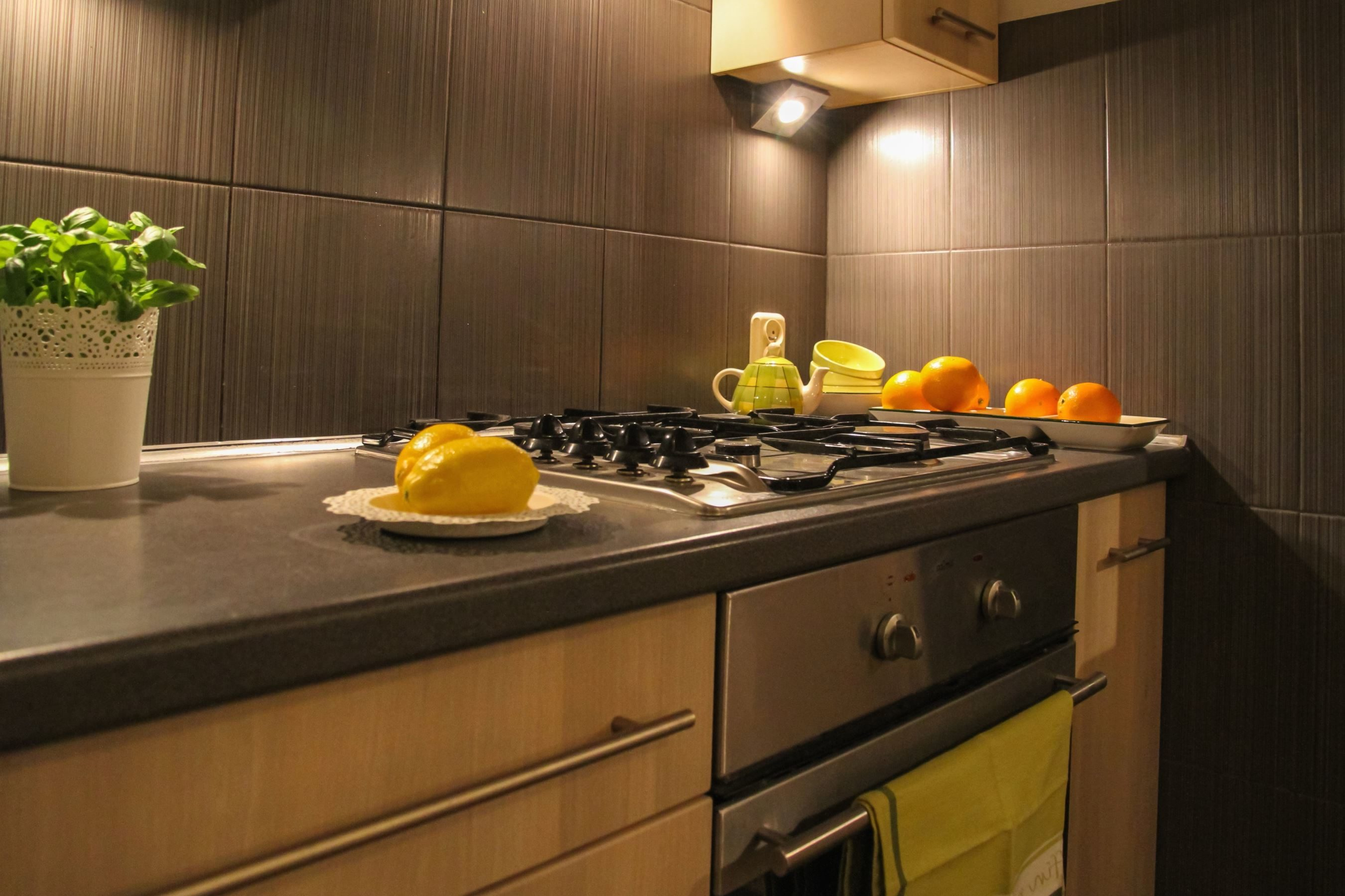 Free Picture Stove Kitchen Home Interior Room House