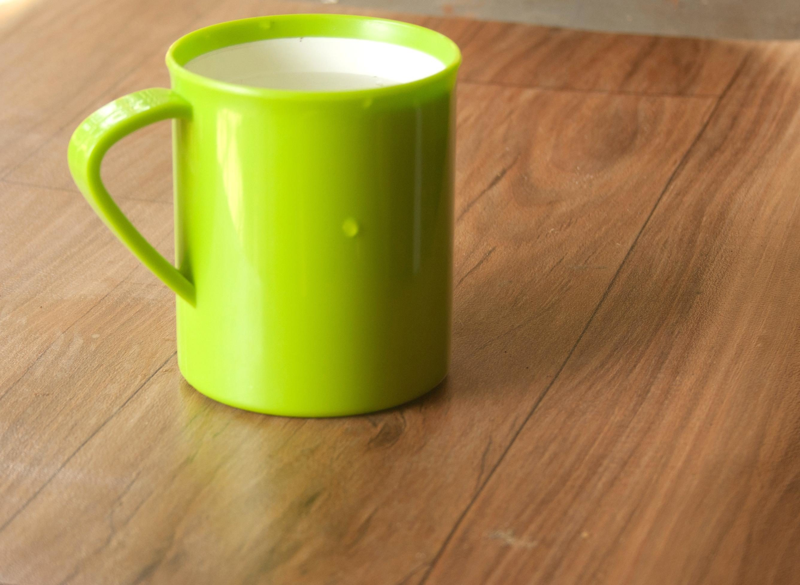 Free picture: green mug table object cup