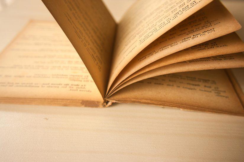 Foto gratis: Vecchio, libro, pagina, testo