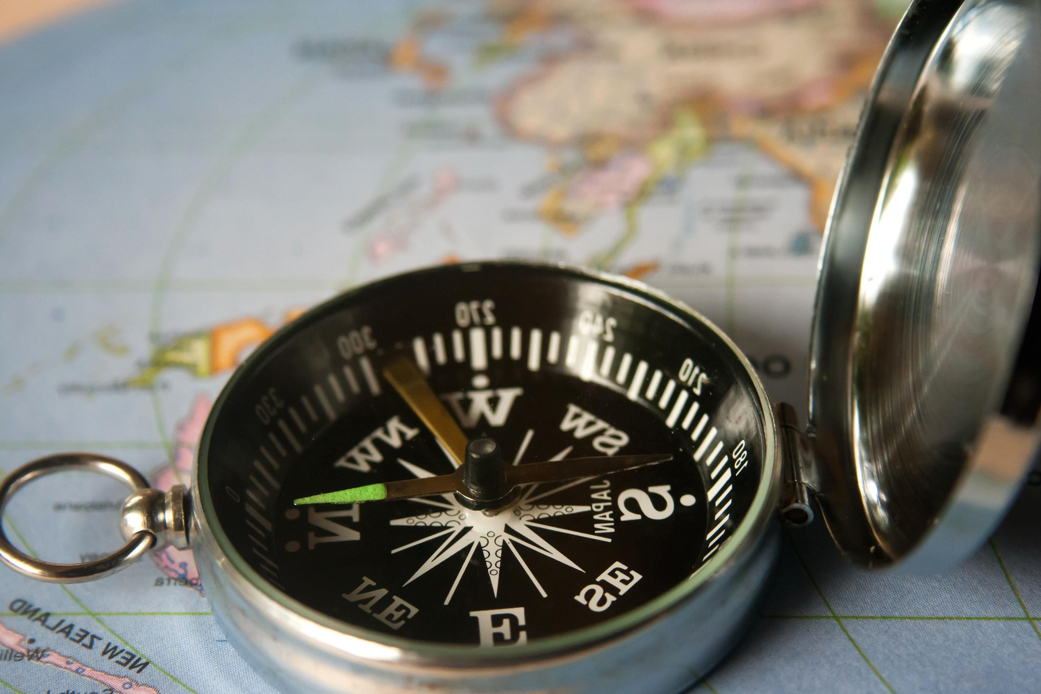 Free Picture Compass Instrument Device Map Navigation