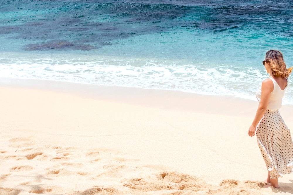 Kostenlose Bild Strand Frau Sand Wasser Meer Meer