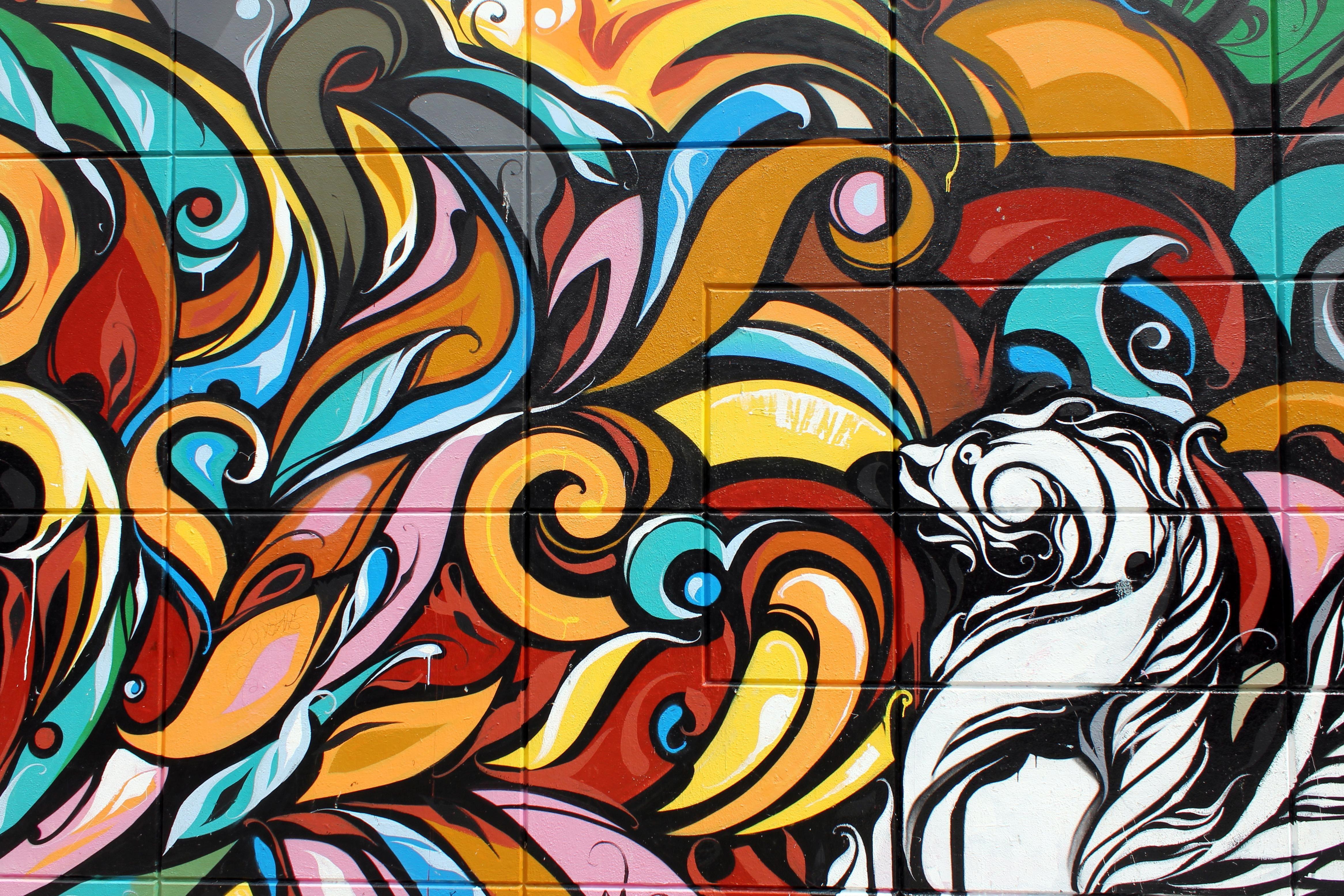 Imagen gratis arte Ilustracin patrn graffiti