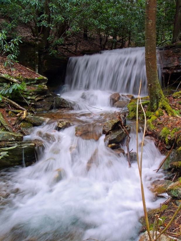 Free picture waterfall water river stream nature