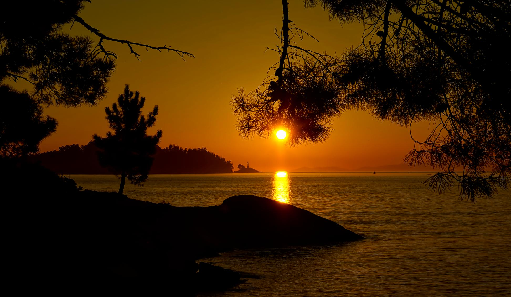 Imagen gratis atardecer amanecer agua playa atardecer