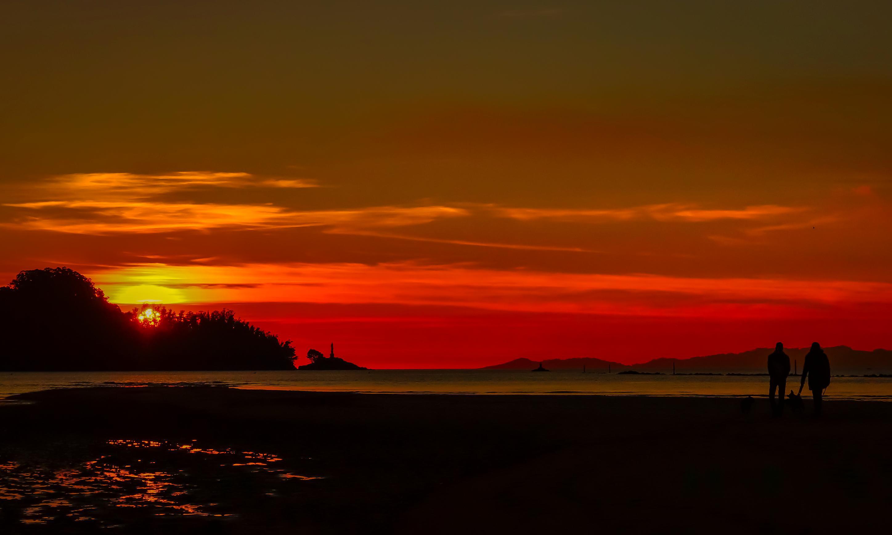 Imagen gratis puesta de sol amanecer crepsculo sol
