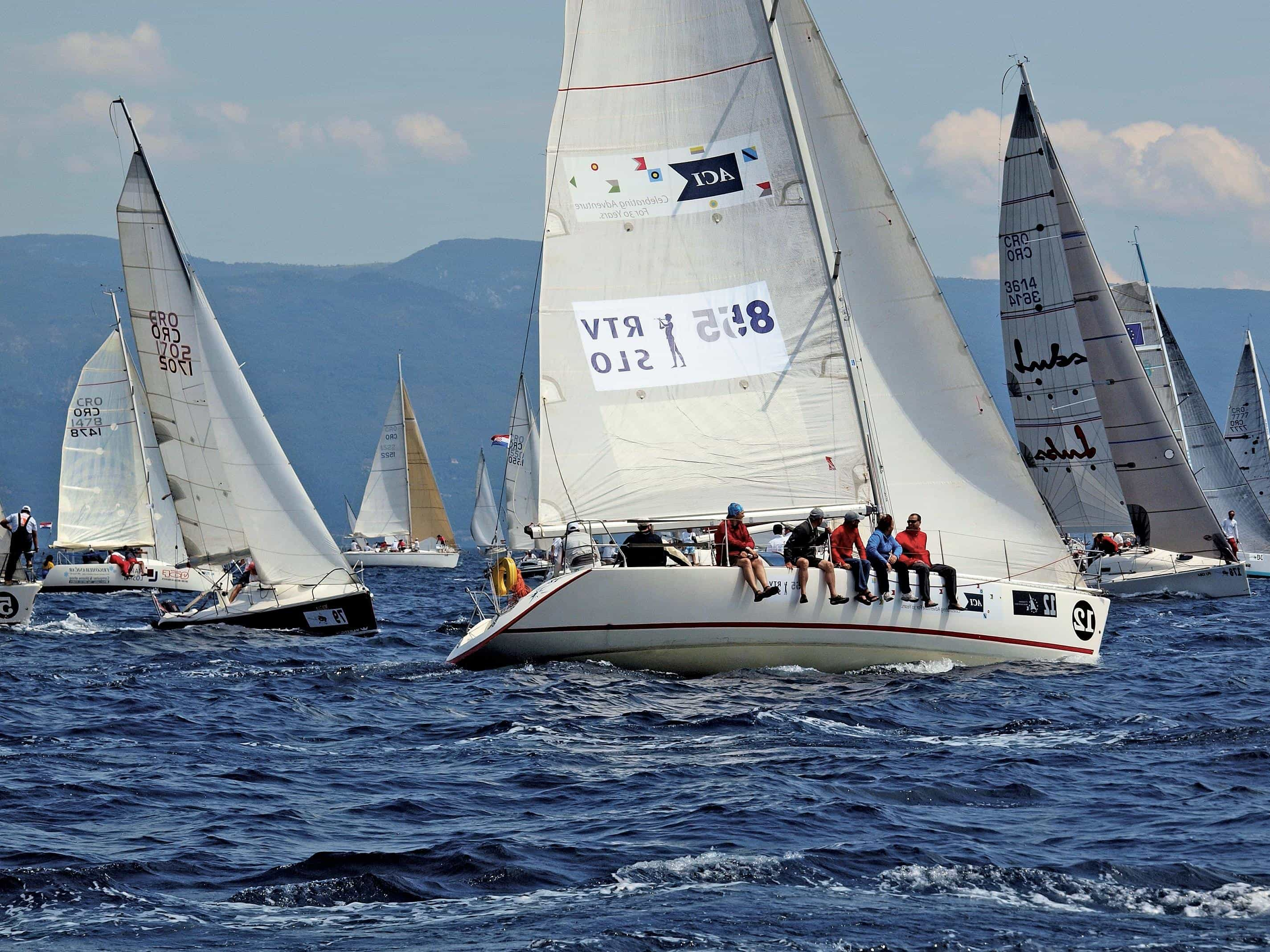 Free picture sailboat sail yacht teamwork sport team