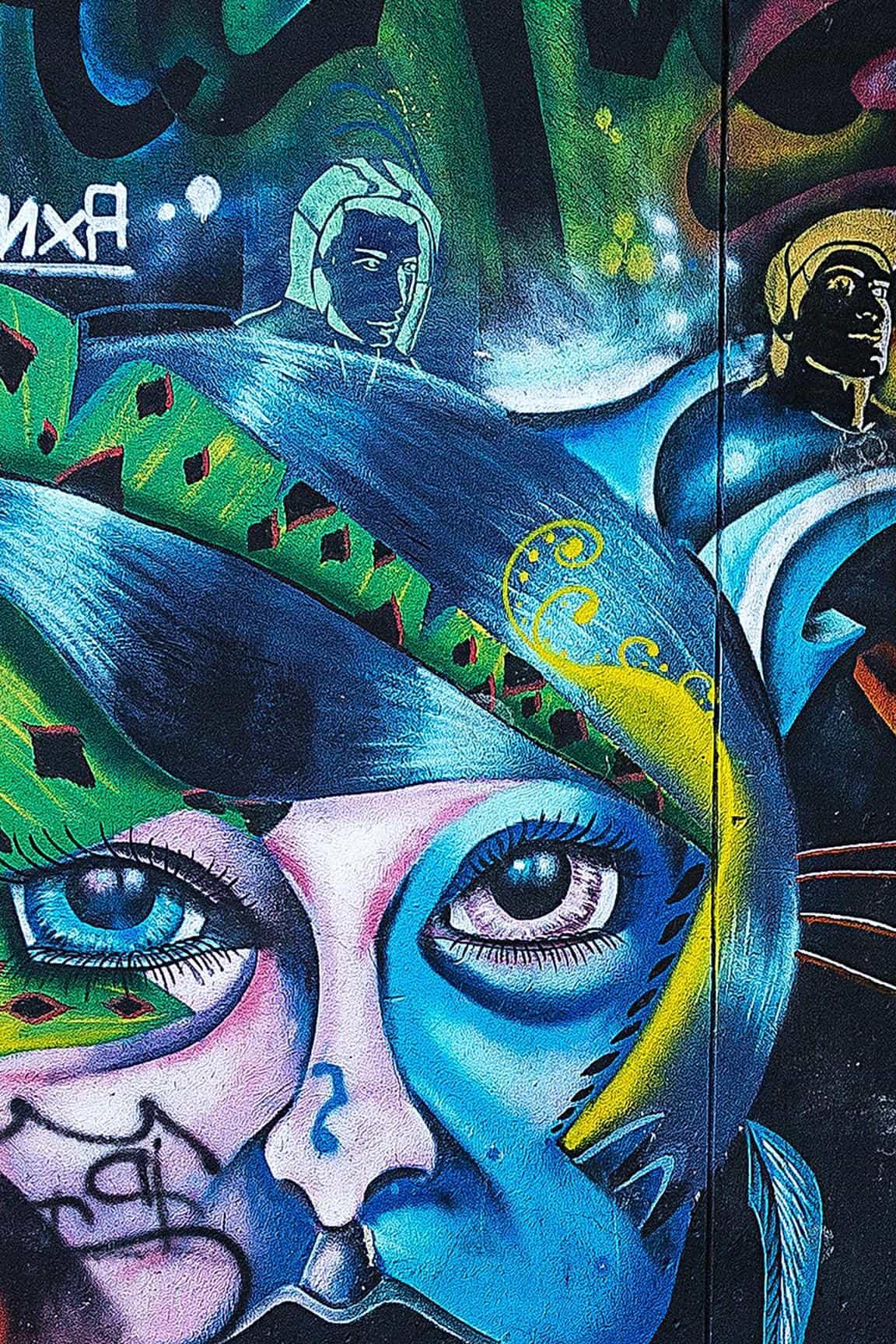 Imagen gratis Graffiti arte artstico mscara