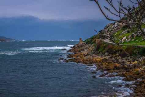water, sea, seashore, island, cloud, landscape, ocean, coast, beach