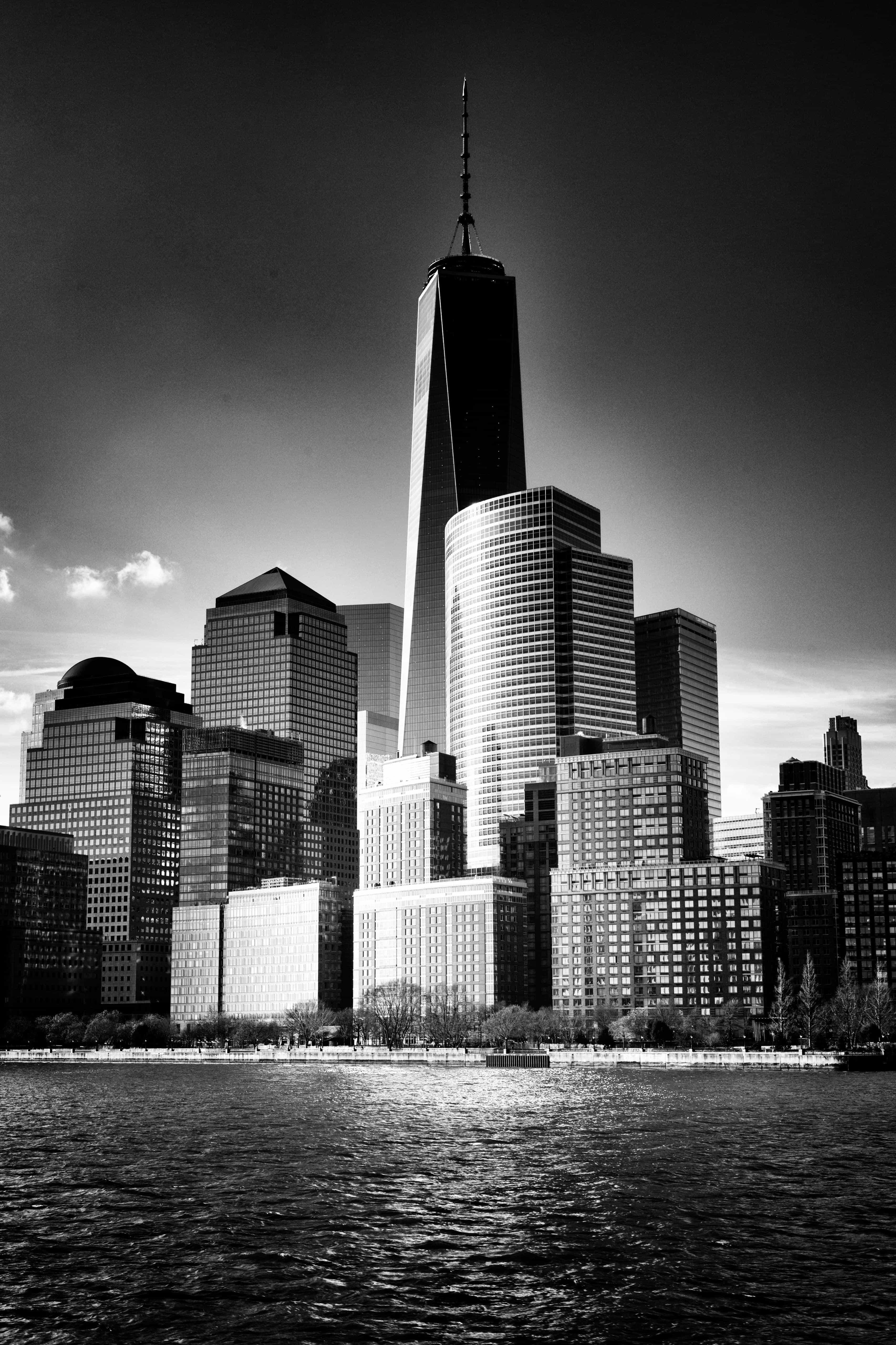 Free picture city architecture monochrome cityscape
