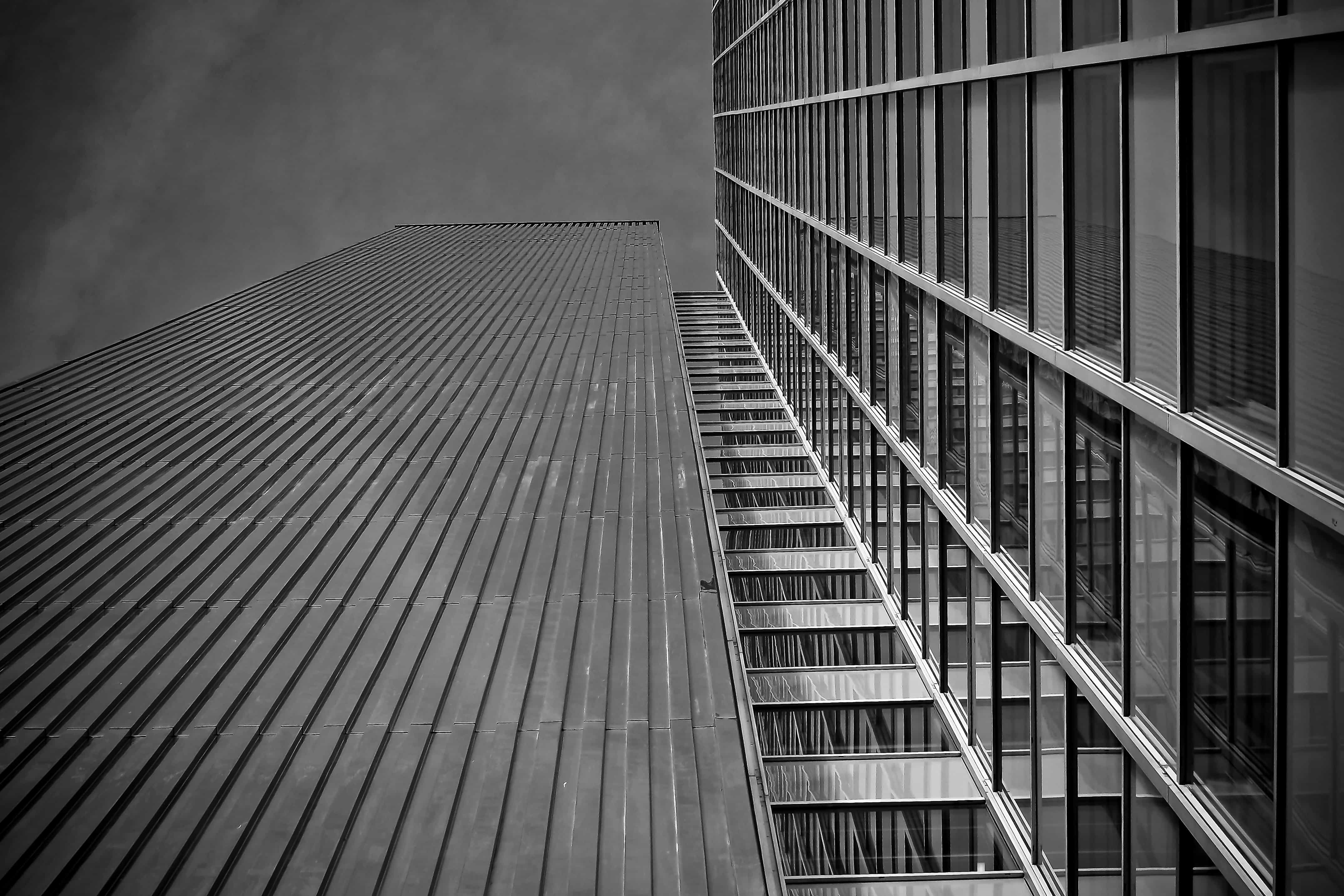 Free picture city monochrome steel architecture
