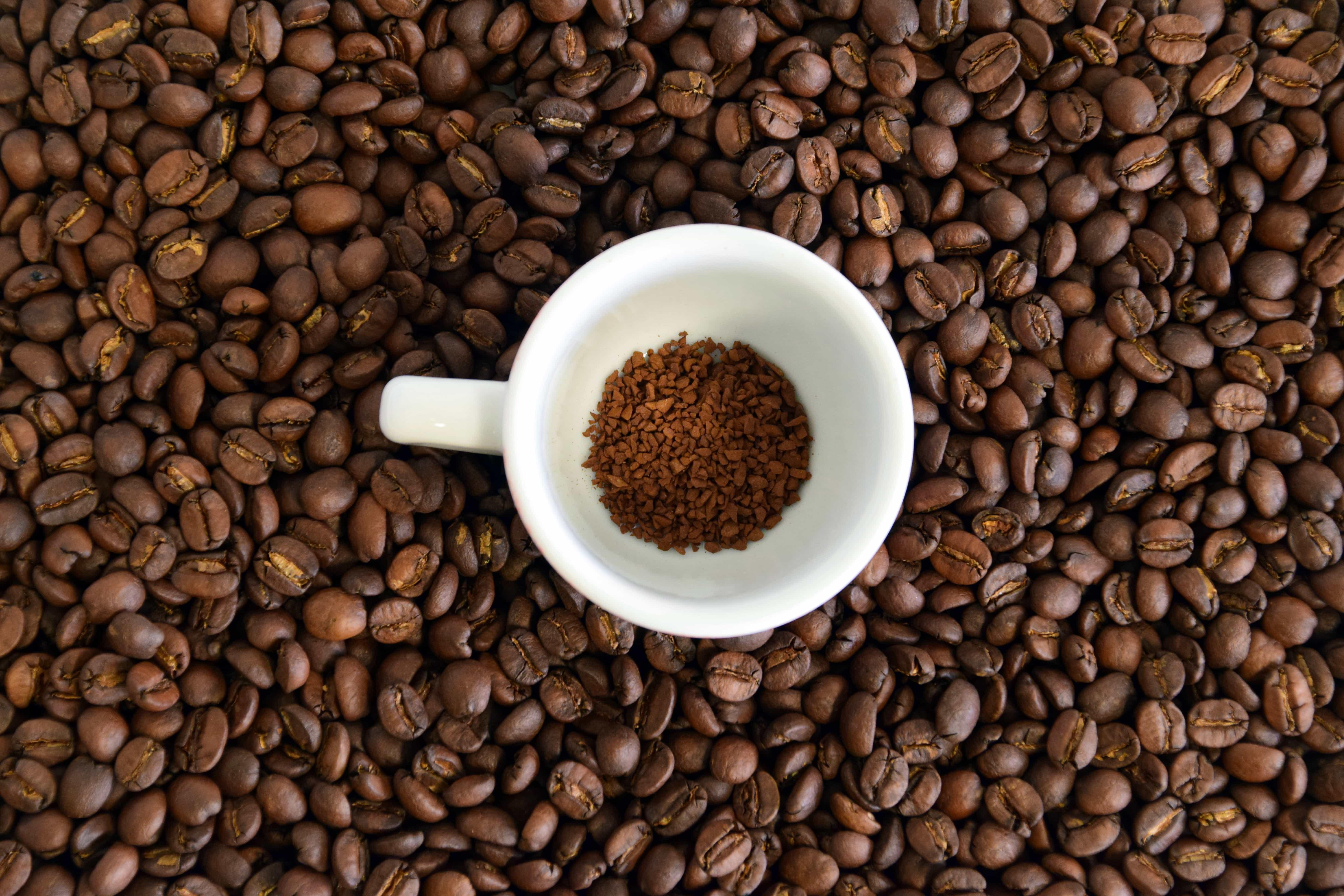 free picture caffeine bean