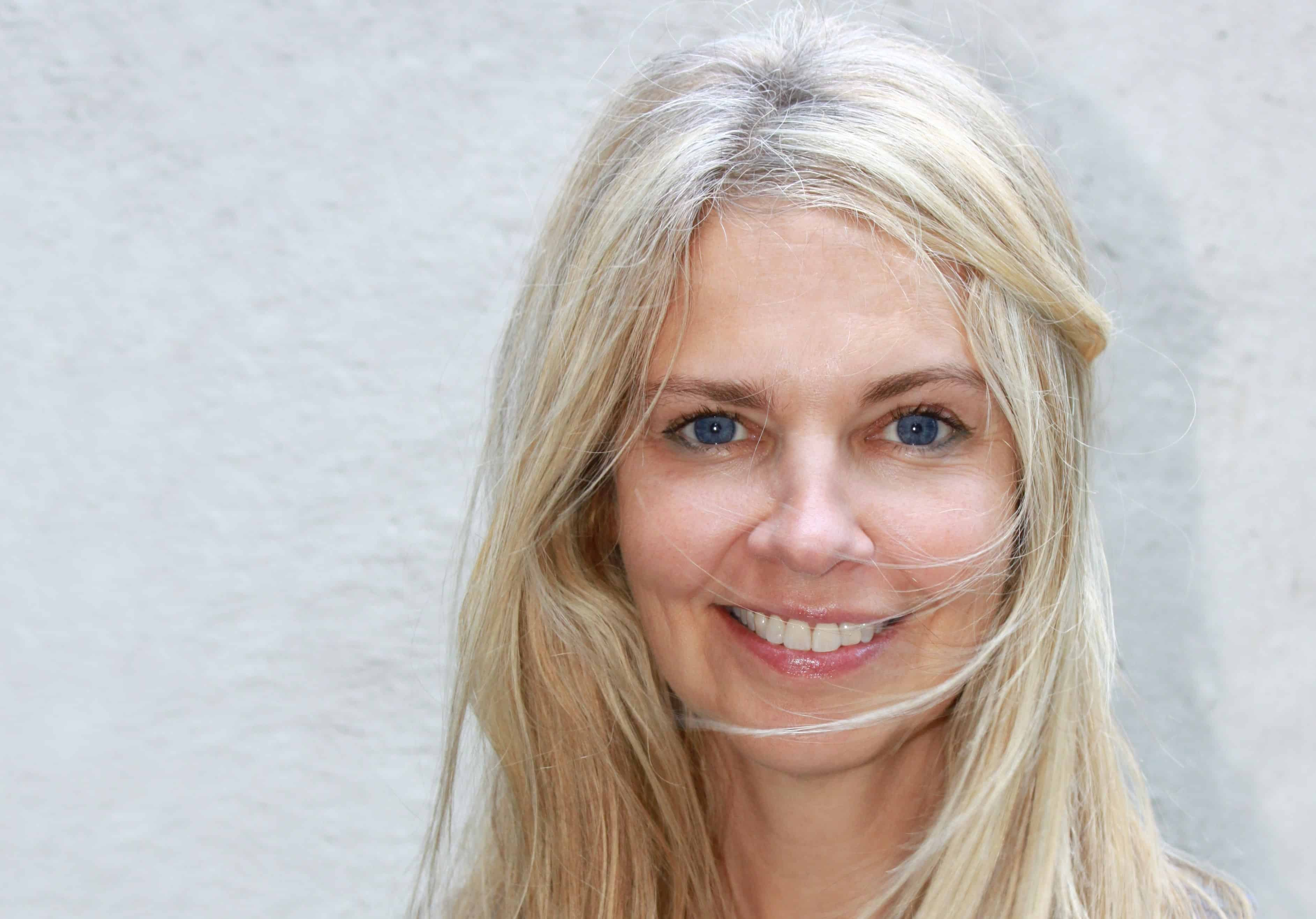 Free Picture Portrait Teeth Smile Woman Blond Face