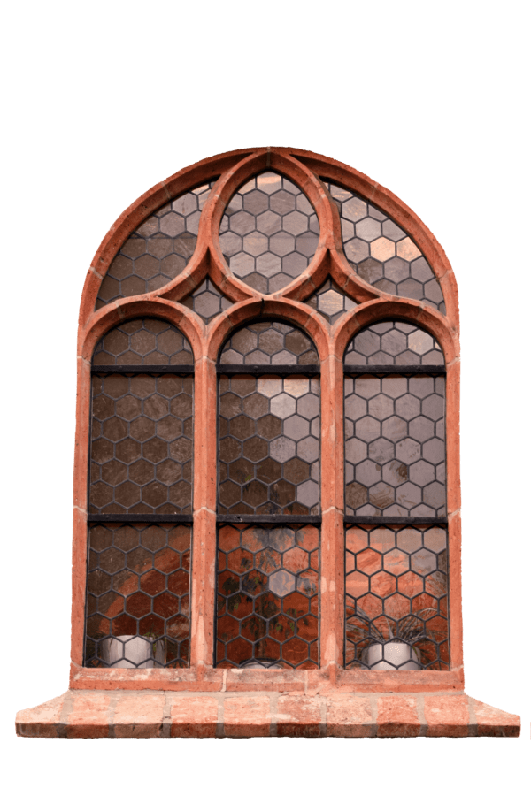 Free picture window old framework design glass object