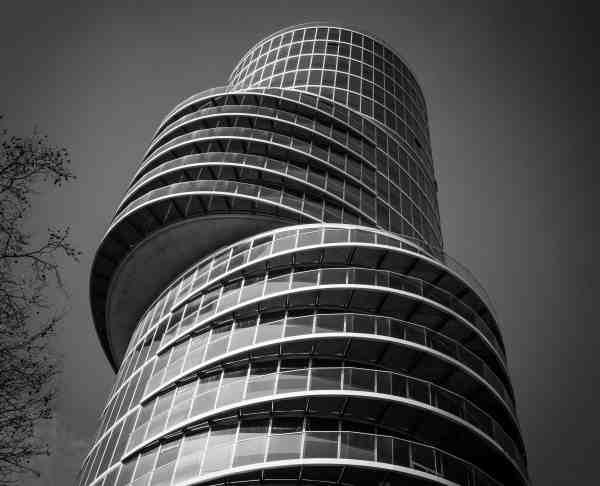 Free Modern Monochrome Architecture Window