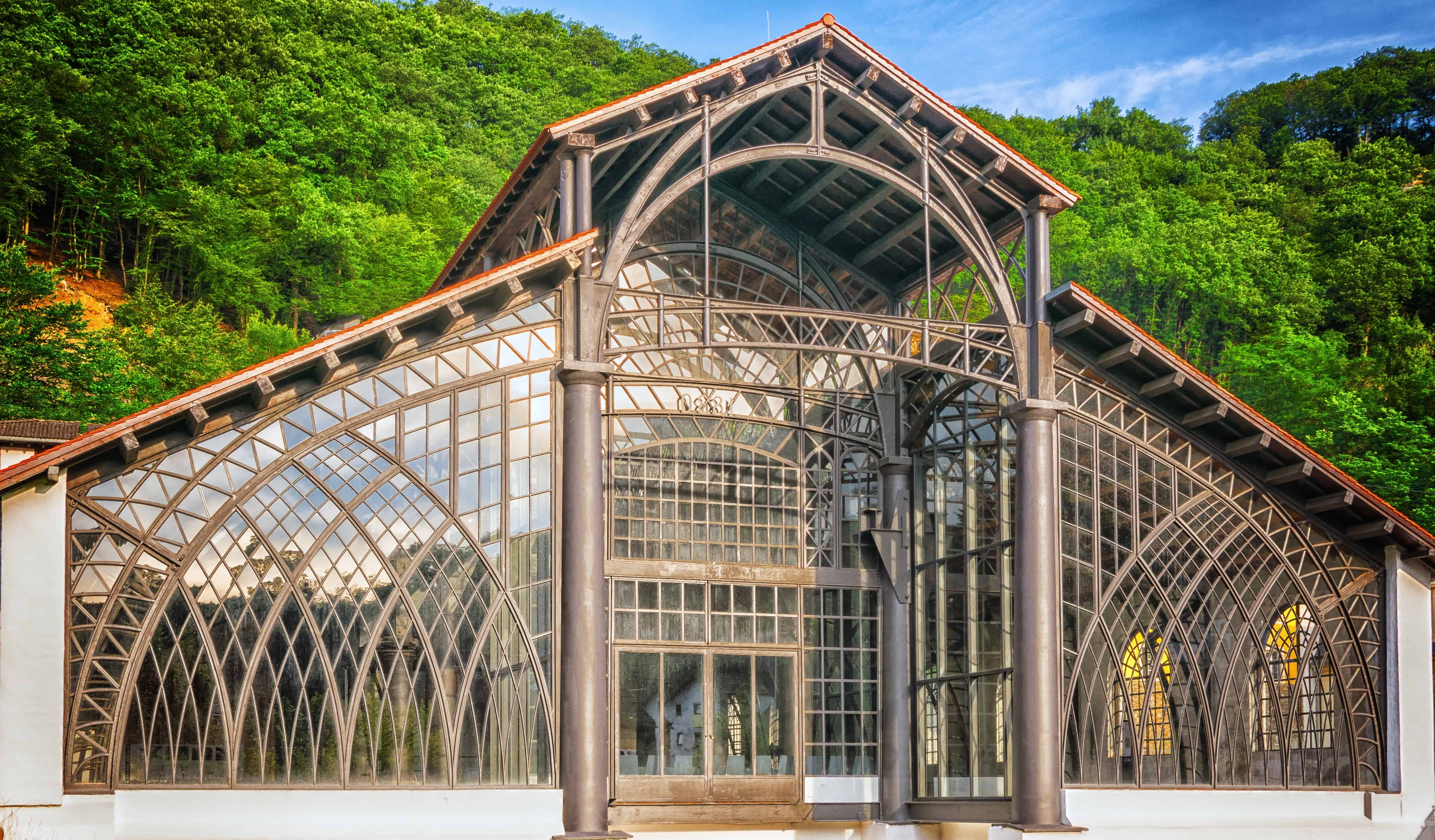 Free picture glass steel construction architecture structure exterior
