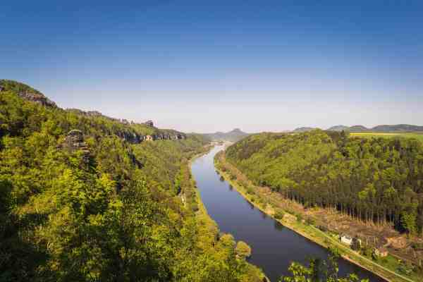 free river landscape