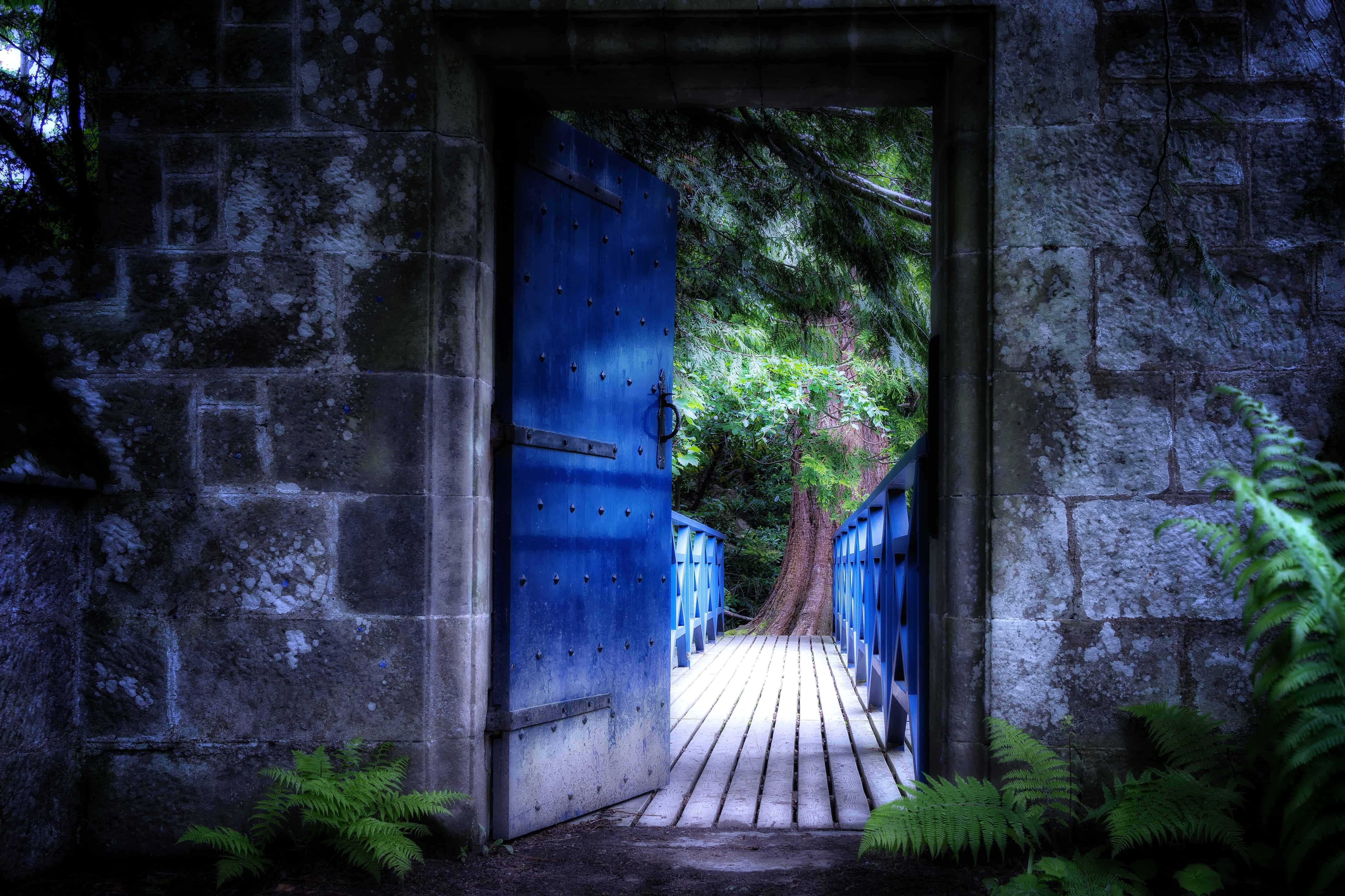 Free Picture Wood Outdoor Door Wall Shadow Dark