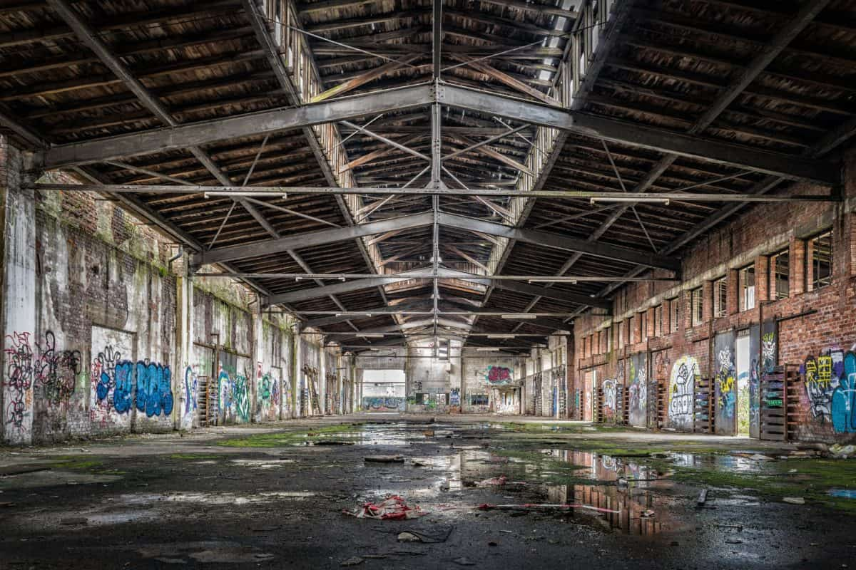 Free Picture Factory Warehouse Industry Structure