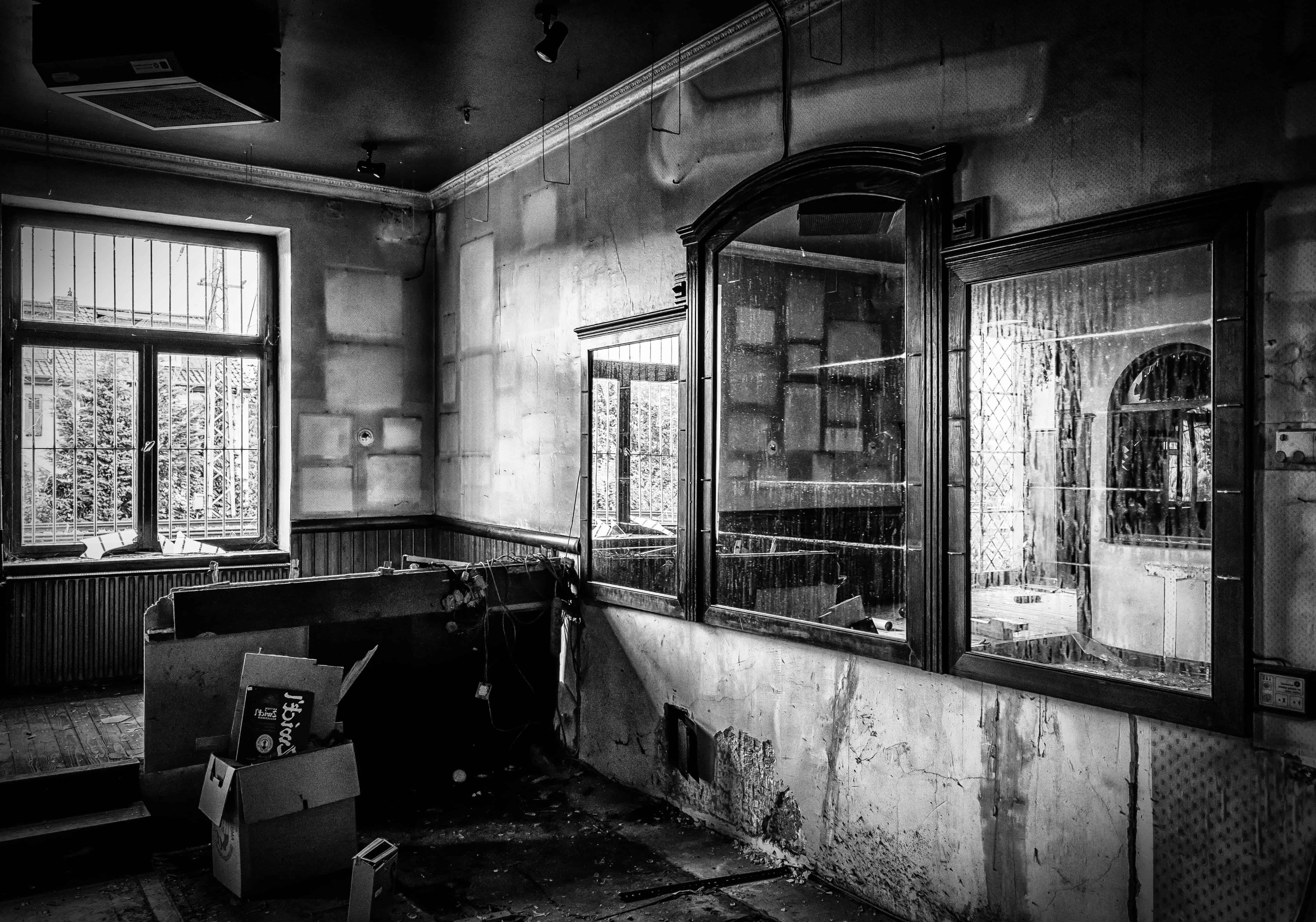 Image libre chambre fentre maison vieille monochrome architecture