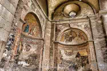 medieval church cathedral architecture interior fresco religion cathedrals churches