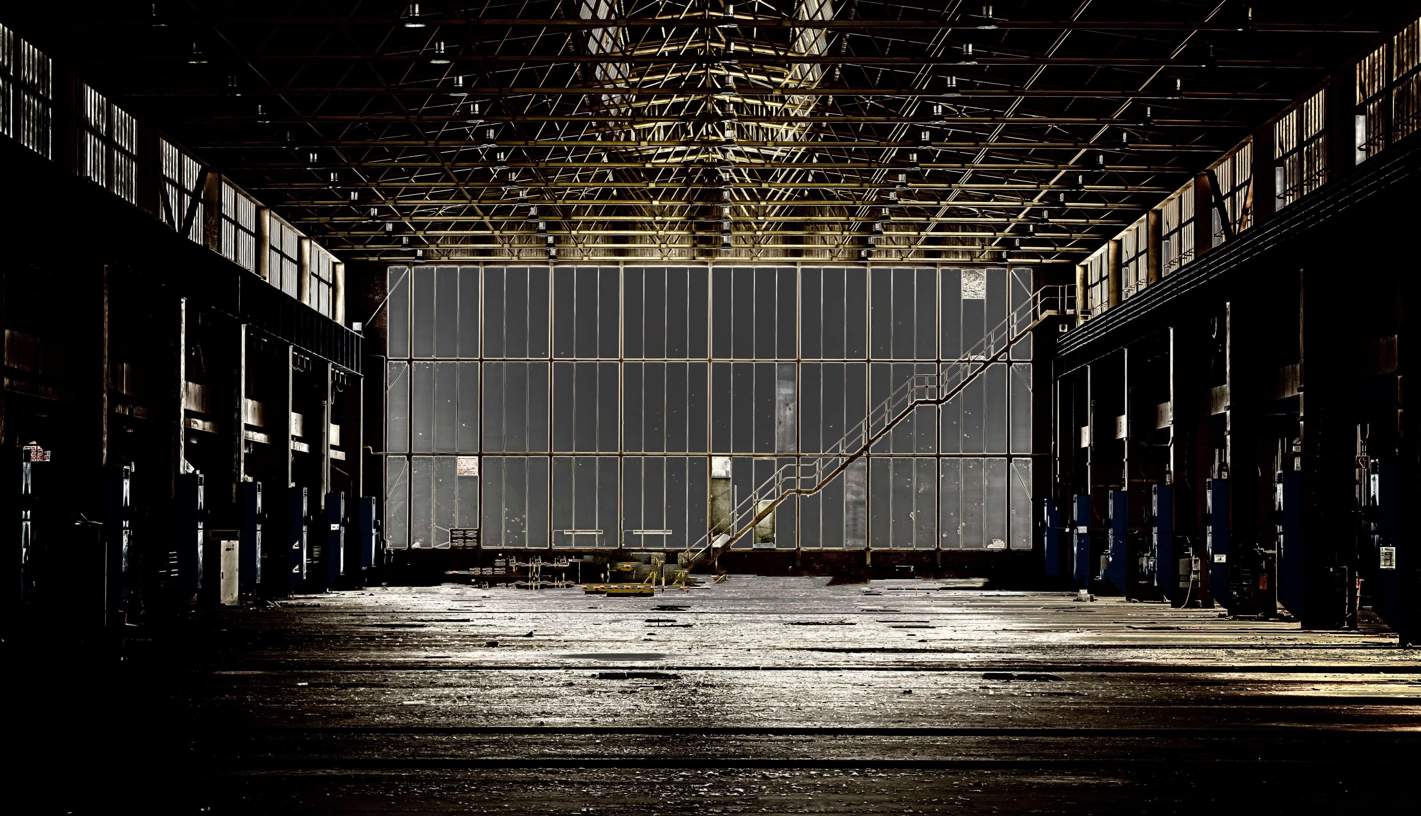 Imagen gratis construccin metal de interior escalera